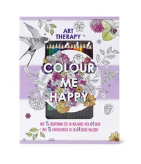 Art therapy COLOUR ME HAPPY